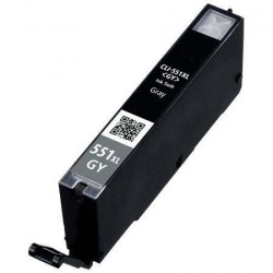 Cartuccia Compatibile Grey Per Canon CLI551G