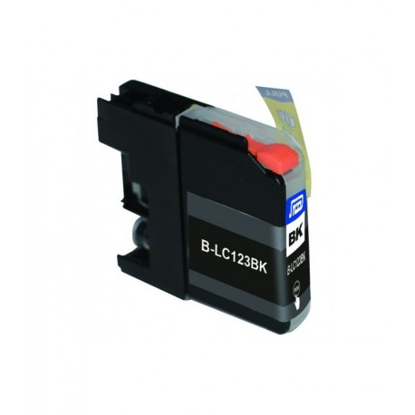 Cartuccia Compatibile Nera Per Brother LC-123BK