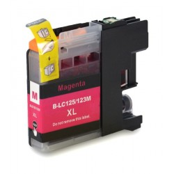 Cartuccia Compatibile Magenta Per Brother LC-123M