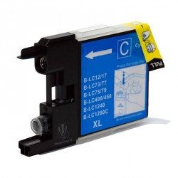 Cartuccia Compatibile Ciano Per Brother LC1240