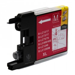 Cartuccia Compatibile Magenta Per Brother LC1240