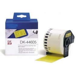 DK 44605 Rotolo Etichette 62mmX30.48m Giallo