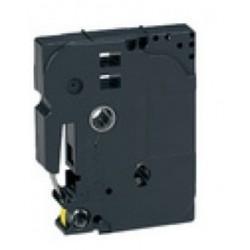 TZ 611 Rotolo Etichette 6mmX8m Giallo