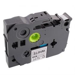 TZ-FX621 Rotolo Etichette 9mmX8m Laminato Giallo Nero