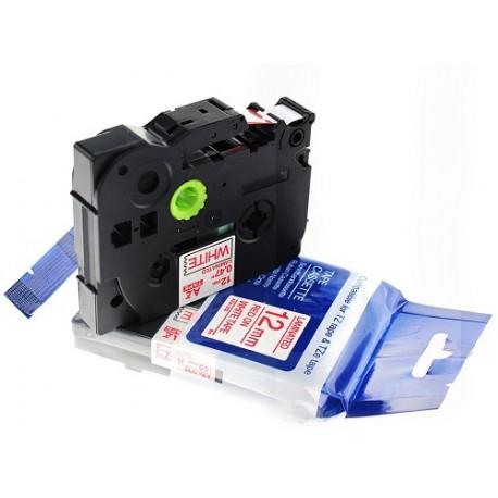 TZ-S631 Rotolo Etichette 12mmX8m Laminato Giallo Nero