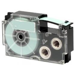 Nastro Etichette Casio XR9WE Compatibile 9mm x8m Bianco