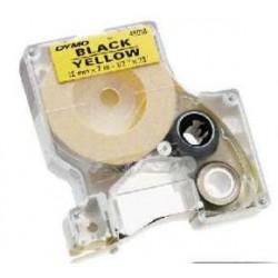 Nastro Etichette Dymo Compatibili S0720730 9mm x 7M Giallo