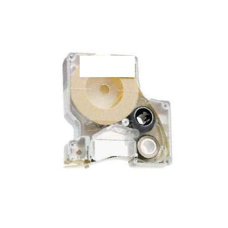 Nastro Etichette Dymo Compatibili S0720780 6mm x 7M Bianco