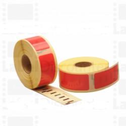 Nastro Etichette Dymo Compatibili S0722520 54mm x 25mm Rosso 500pag