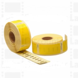 Nastro Etichette Dymo Compatibili S0722520 54mm x 25mm Giallo 500pag