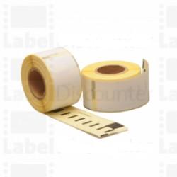 Nastro Etichette Dymo Compatibili S0722400 89mm x 36mm Bianco 260pz