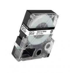 Nastro Etichette Epson Compatibili C53S624402 9mm x 8M Bianco