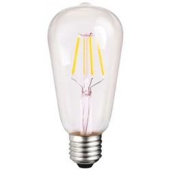 Lampadina Led 6 Watt pari a 60 watt incandescenza attacco piccolo