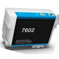 Cartuccia Epson T7602 Ciano Compatibile C13T76024010