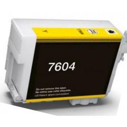 Cartuccia Epson T7604 Giallo Compatibile C13T76044010