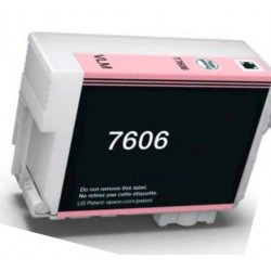 Cartuccia Epson T7606 Light Magenta Compatibile C13T76064010