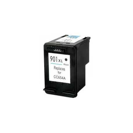 Cartuccia Nera Rigenerata HP 901 XL CC654AE