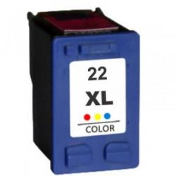 Cartuccia Tricolor Rigenerata HP 22 XL C9352CE