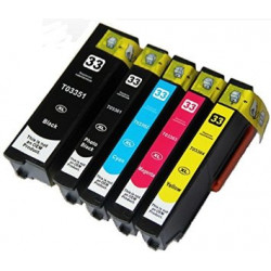 Rainbow Cartucce Epson T3351 T3361 T3362 T3363 T3364 XL