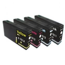 Rainbow 4 Cartucce Epson T7011XL T7012XL T7013XL T7014XL