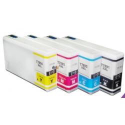 Rainbow 4 Cartucce Epson T7891XL T7892XL T7893XL T7894XL