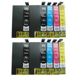 Multipack 10 Cartucce Epson T2711XL T2712XL T2713XL T2714XL