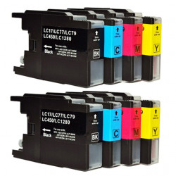 Multi Pack 8 Cartucce Brother LC1280XL