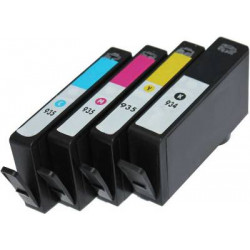 Rainbow 4 Cartucce Compatibili HP 934XL HP 935XL