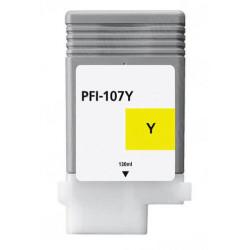 Cartuccia Gialla Per Canon PFI 107 Compatibile
