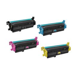 Multipack 4 Toner Per HP CF360X-CF361X-CF362X-CF363X