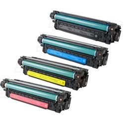 Multipack 4 Toner Per HP CE400X-CE401A-CE402A-CE403A