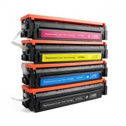 Multipack 4 Toner HP CF540A-CF541A-CF542A-CF543A Compatibili