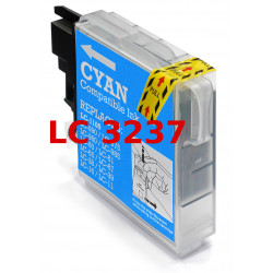 Cartuccia Per Brother LC3237C Compatibile Ciano