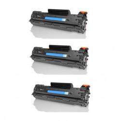 Offerta 3 Toner Per Hp CB436A Compatibili