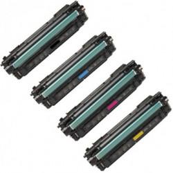 Multipack 4 Toner Per HP CF450A-CF451A-CF453A-CF452A (655a) Compatibili