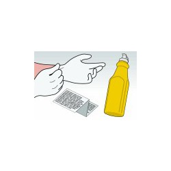 Kit Ricarica Toner Giallo Per Cartucce Brother TN-135Y