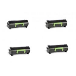 Offerta 4 Toner Per Lexmark 50F2H00 Compatibili