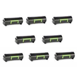 Offerta 8 Toner Per Lexmark 50F2H00 Compatibili