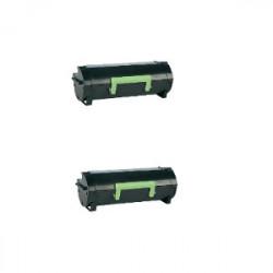 Bipack Toner Per Lexmark 60F2H00 (602H) Compatibili