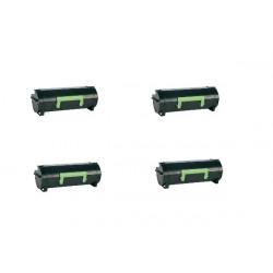 Offerta 4 Toner Per Dell 593-11167 (M11XH/C3NTP) Compatibile Nero