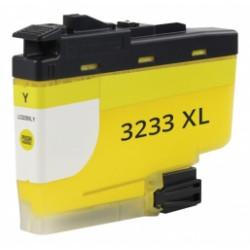 Cartuccia Per Brother LC3233Y Compatibile Giallo