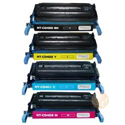 Multipack 4 Toner Per Hp CB400A-CB401A-CB402A-CB403A