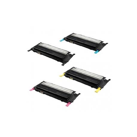 Multipack 4 Cartucce Samsung CLT-K4072S CLT-C4072S CLT-M4072S CLT-Y4072S