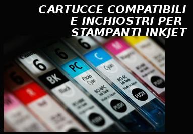 CARTUCCE COMPATIBILI E INCHIOSTRI PER STAMPANTI INKJET