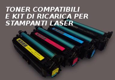 Toner compatibili e kit di ricarica per stampanti laser