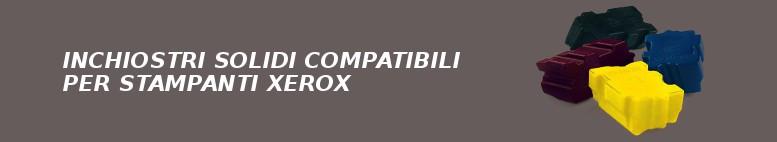 INCHIOSTRI SOLIDI COMPATIBILI PER STAMPANTI XEROX